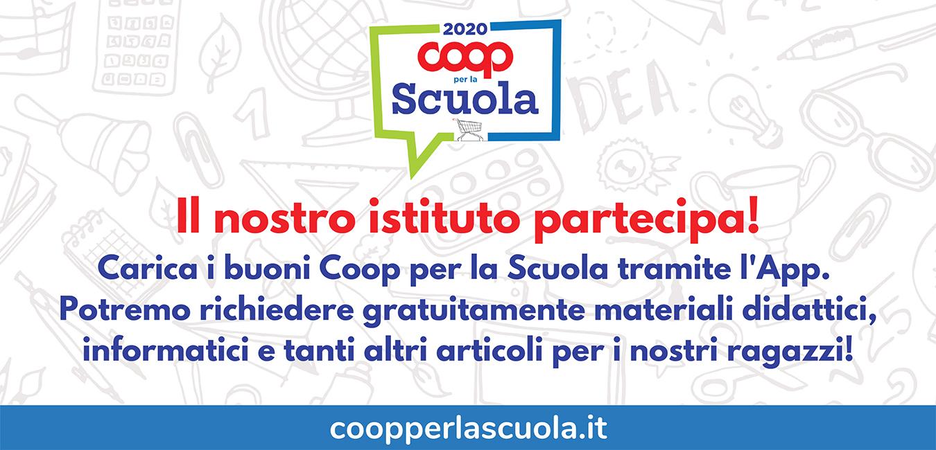 banner Coop per la scuola